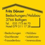 Fritz Dänzer Dach und Holz